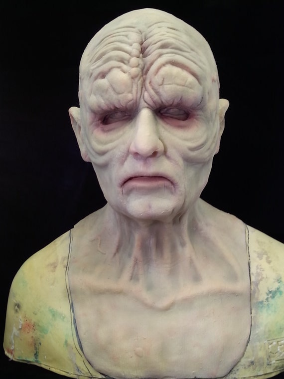 emperor palpatine inspired silicone mask etsy. Black Bedroom Furniture Sets. Home Design Ideas