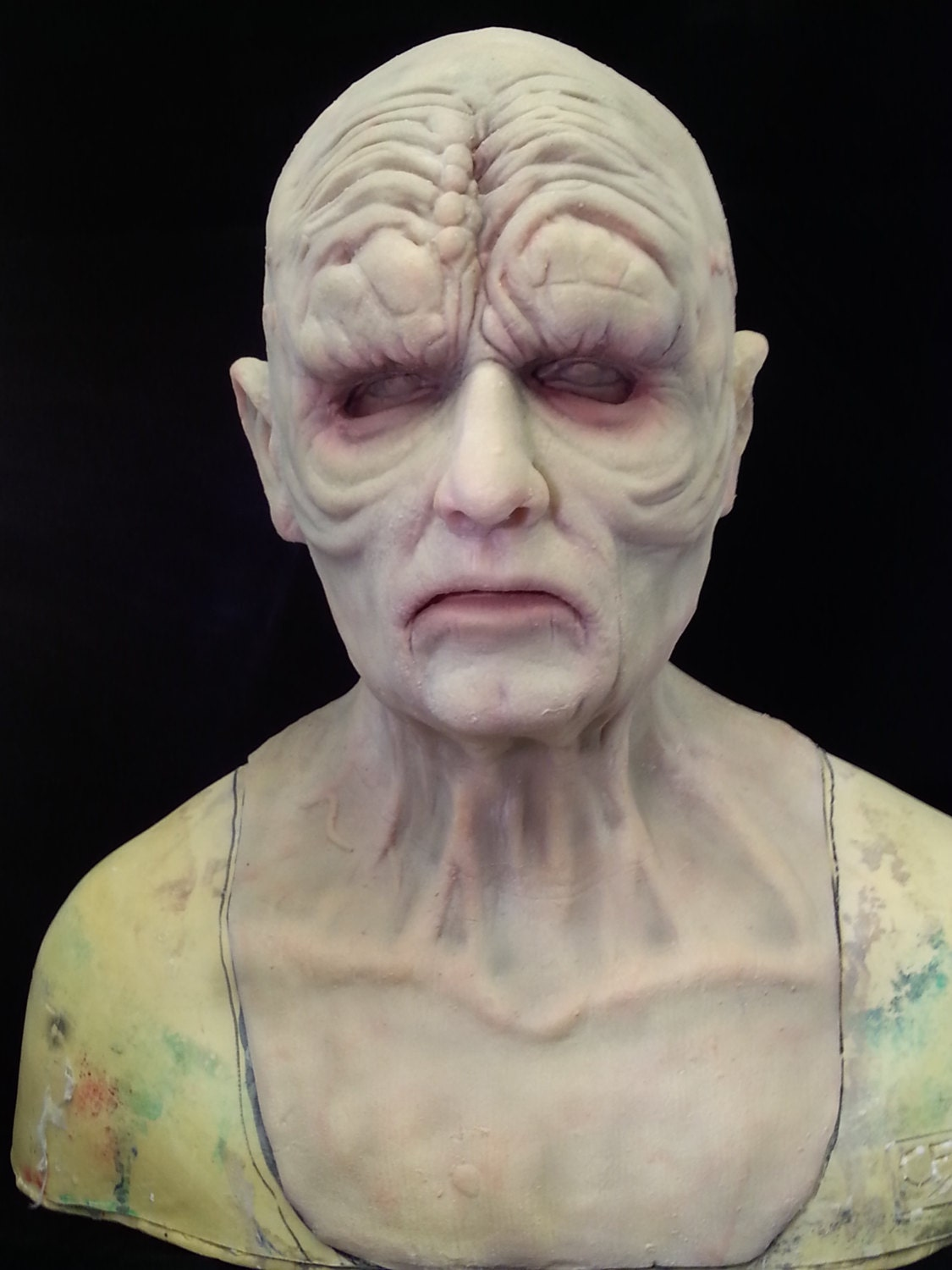 emperor palpatine inspired silicone mask by melissacoulter. Black Bedroom Furniture Sets. Home Design Ideas