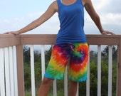 Tie dye Womens shorts size Medium