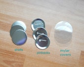 "50 Pinback Supplies 2 1/4 inch 2.25"" Button Badge Set for Badge a Minit"