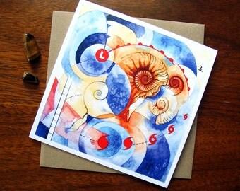 "ART CARD - ""Fig. 3"""