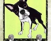 Boston Terrier Leash Hook Pet Leash Hook Dog Leash Collar Hook Pet Home Decor