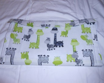 Giraffe Changing pad and wipes case