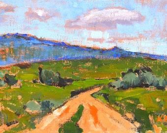 Idaho Mountains- Original Oil Landscape Painting