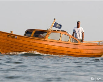 I am a builder of Scandinavian wooden boats of all shapes and sizes