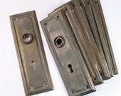 Pr Vintage Door Plates - Antique Victorian Hardware - 2 Pair Available