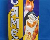 Camel Cigarette Metal Floor Ashtray – Advertising Joe Camel