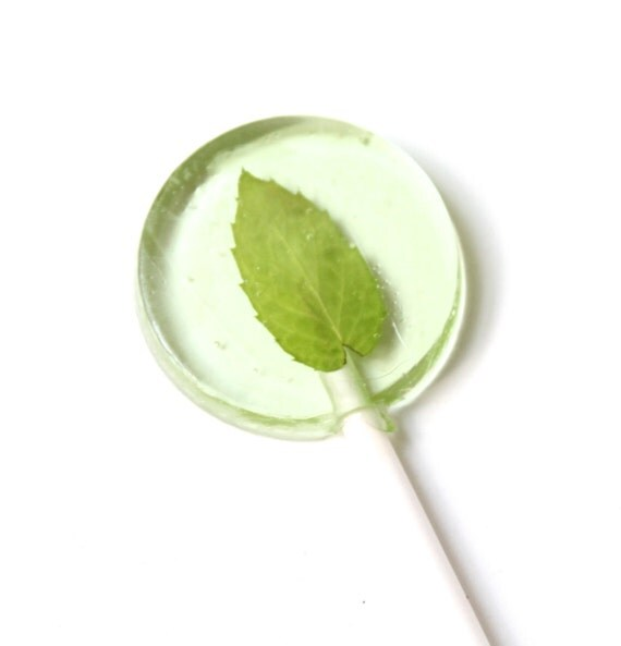 Mojito Flavor Lollipops 8 pieces 2 sizes