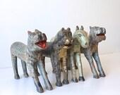 Folk Art Animals // Tiger //  Rajasthan // Vintage