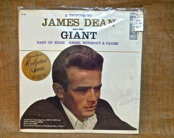 A Tribute to JAMES DEAN - 19 Vintage Vinyl Record Album