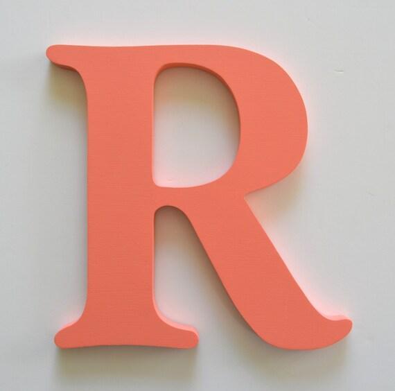 Letter R 24 Inch Letter Large Wooden