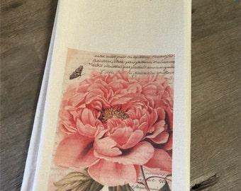 Botanical Tea Towels - Flower - French - Houseware - Kitchen - Gift
