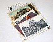 Rome Italy - Vintage Travel Ephemera Collage Kit