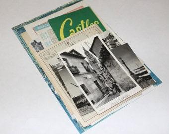 Spain - International Travel Vintage Collage Kit