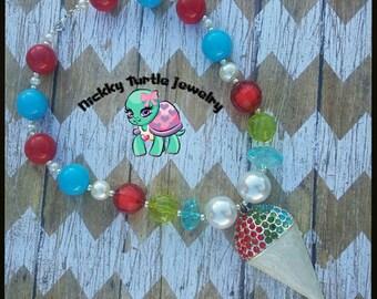 Snowcone Necklace