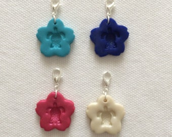 One Sea Turtle Diffuser pendant, charm or zipper pull. You choose color.