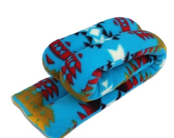 Canyon Turquoise Microwave Hot Cold Neck Shoudler Wrap, 5x25, Heating Pad, Neck Shoulder Back Moist Heat,  Anti-pil Fleece, Spot Clean