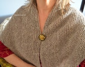 PDF  Hand Knit PDF Patterns  Cottage Elegance Kindred Spirit Tasha Tudor Style Shawls Scarf Handwarmers Story PDF Three knitting patterns