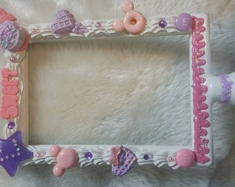 Decoden sweets picture frame 4x6