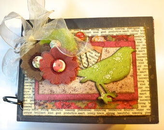 Inspiration Journal Mini Scrapbook Album