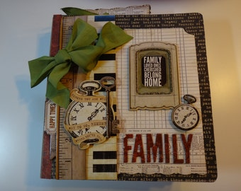 Family History  Family Tree Photo Memory Scrapbook Photo Album