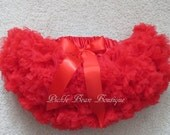 Red Tutu, Red Pettiskirt, 9-24 mo, Adjustable Waist, 1st Birthday Tutu, 1st Birthday Girl Outfit, Girls First Birthday Outfits, Baby Skirt