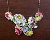 Spring Skagit Necklace - Recycled China - Material and Movement