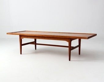 mid century Drexel Declaration coffee table, mcm cocktail table