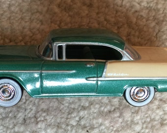 1955 Chevrolet Bel Air Metal Car - Collectable