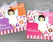 1st Birthday invitation, Baptism invitation, First Communion, Invitations for girls, Choose a color   PERSONALIZED