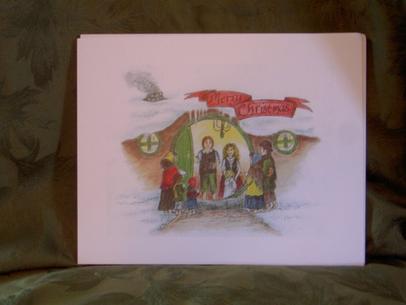 Christmas in the Shire print (2012)