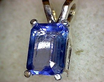 Beautiful Tanzanite Pendant