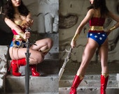 New  Wonder Woman Costume  Replica Custom Made size XS-L