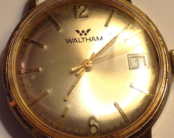 Watch Men Vintage Men's 1970's Waltham Mechanical Watch
