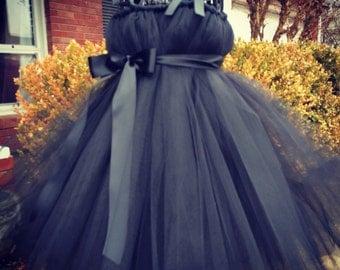 My little black tutu dress/ Pageant Attire/Tutu Dress/special event attire/