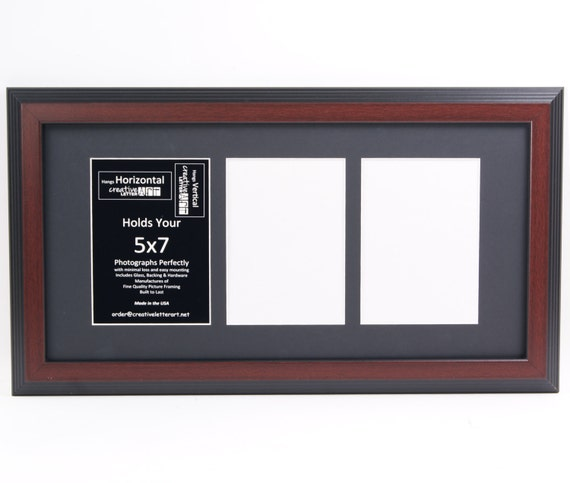 5x7 Multiple 3 Opening Picture Frames With 10x20 Collage