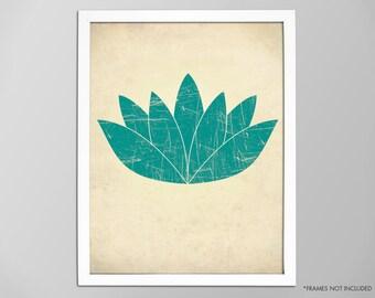 Lotus Flower Print, Yoga Art Print, Yoga Decor, Lotus Flower Poster, Yoga Art, Lotus Print, Lotus Flower Poster, Lotus Art Print, Yoga Lotus