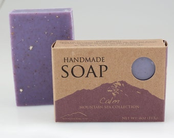 Calm - Handmade Vegan Soap  -  Mountain Spa Collection
