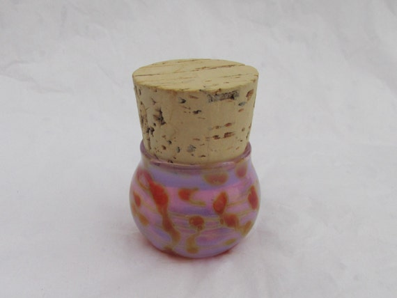 Small decorative glass jar for Small colored glass jars