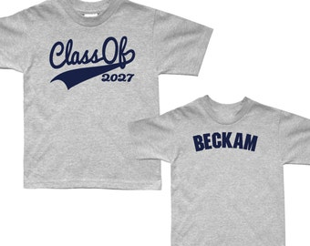 First Day of School Shirt - Graduation Shirt - Back to School - pick your colors!