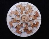 The Safecracker 50 puzzle premium with Cherry & Maple - math brain teaser