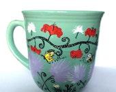 Summer flowers - coffee mug