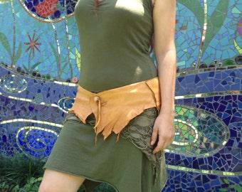 Saddle Buckskin Pocket Belt