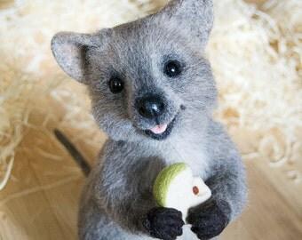 Quokka (small kangaroo) MADE TO ORDER