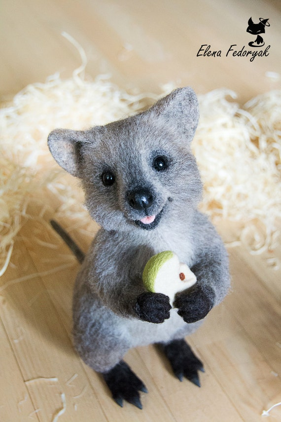 Quokka small kangaroo MADE TO ORDER