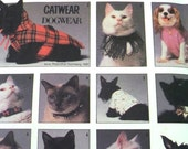 DOG CLOTHES Pattern • Simplicity 8416 • Size S-L • Cat Collars • Dog T-Shirt • Dog Coat Pattern • Catwear • Craft Pattern • WhiletheCatNaps