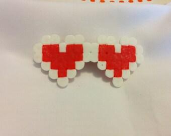 Legend of Zelda Heart Container Barrette