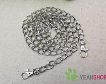 Antique Brass / Silver Bag Chain / Purse Chain - 108cm / 42.5 inch (BC6)