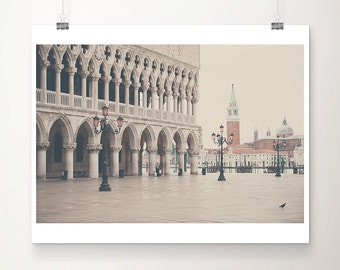 Venice photograph St Marks Square photograph travel photography venice print Piazza San Marco print  bird photograph