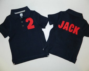 Polo onesies etsy for Personalized polo shirts for toddlers